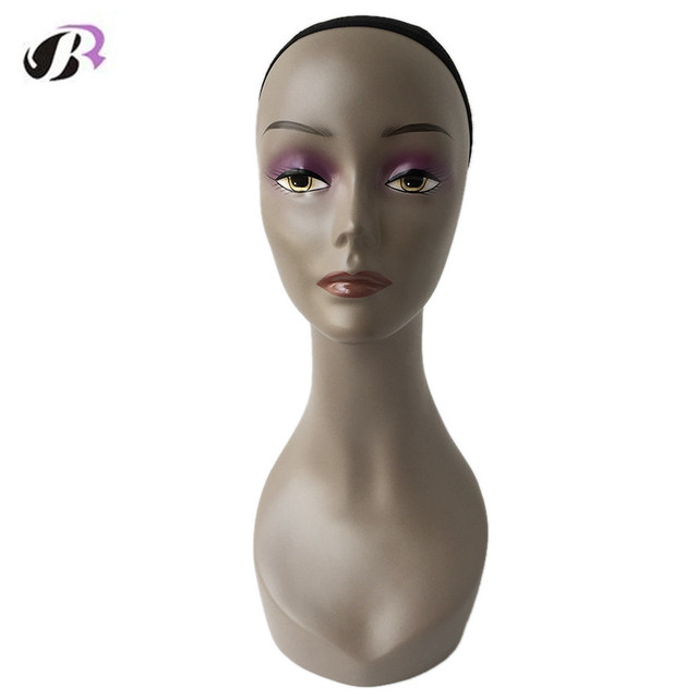Free Shipping High Quality Afro Female Mannequin Head For  Wigs/Hats/Sunglasses/Jewelry