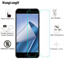 купить Screen Protector For ASUS ZE554KL Tempered Glass Protective Film For Asus ZE554KL Screen Protector Protective 9H 2.5D 0.26mm дешево