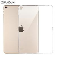 ZUANDUN Soft Silicone TPU Case For Apple IPad Pro 12 9 Inch 2017 Thin Transparent Clear