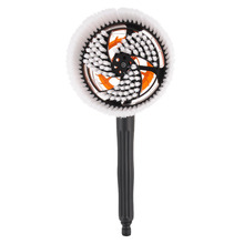 Car Cleaning Brush Portable Automatic Rotary Car Brush Durable Switch Water Flow Foam Brush Car Care Tool with High Quality