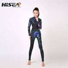 2019 Seac Hisea 3MM Women Wetsuit Diving Suit Lycra Anti-UV Long Sleeve Warm Rashguards Wetsuits Snorkelling Scube Diving Suit Q seac sub гарпун seac нерж сталь для пневматического ружья asso 50