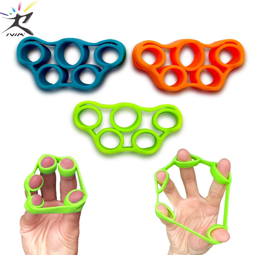 Finger Resistance Bands Training Stretch Bands Exercise Elastic Rubber Bands For Fitness Equipment Pull Ring Hand Expander Grip