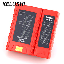 Kelushi Высокое разрешение Кабельный тестер NF-611 кабельный тестер детектор диагностировать тон Tracer Стандартный HDMI Провода Tracker линия Finder