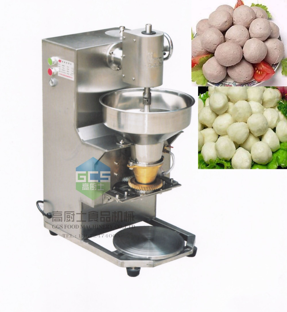 Free shipping 110V/220V Stainless steel Meatball forming machine Meat ball maker fish ball making machine der gute mensch von sezuan