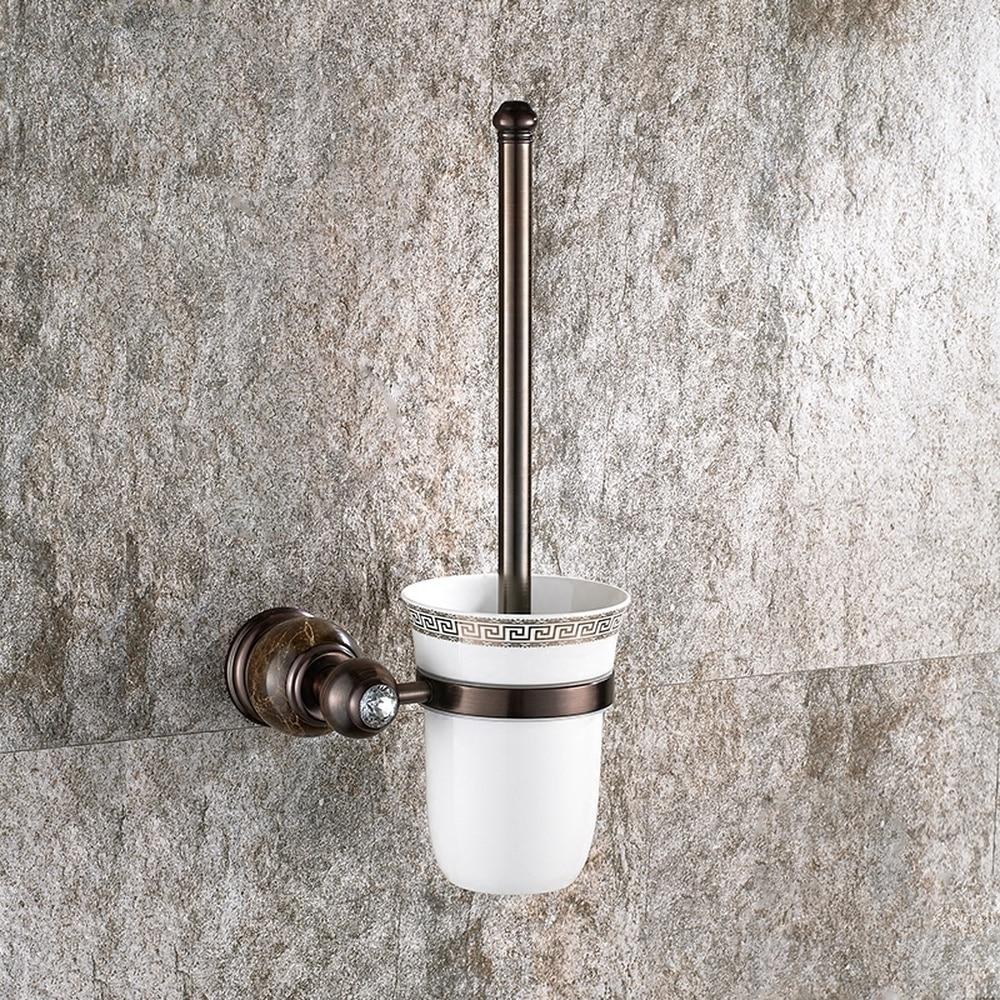 European antique toilet brush black ceramic toilet cup toilet cleaner bathroom copper toilet shelf lo81459 matt ceramic lens cup black 310ml