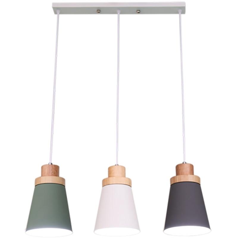 LukLoy Nordic Modern Pendant Light Loft Lamps For The Kitchen Led Pendant Lights Hanglamp Hanging Light Fixture Luminaire