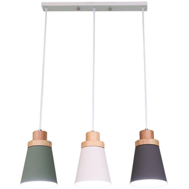 Işıklar ve Aydınlatma'ten Kolye ışıkları'de LukLoy İskandinav Modern Kolye Işık Çatı Lambaları Mutfak LED kolye Işıkları Hanglamp Asılı aydınlatma armatürü Armatür title=