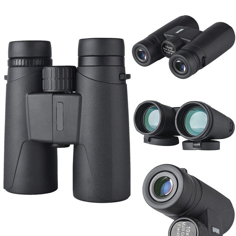 High Quality Vision Hunting Military HD 10X42 Binoculars Long Range Telescope Zoom for Outdoor Camping Hiking With Bag  цены