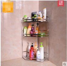 Double layer stainless steel kitchen shelf seasoning frame tool rest 3 receives landing supplies hanging