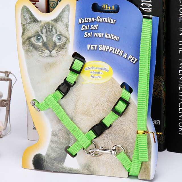 Nylon Cat Harness And Leash 4