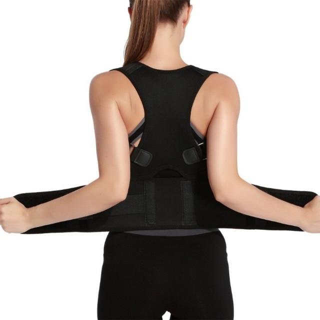 Adjustable Posture Corrector Brace Shoulder Back Support Belt for Men Women Braces & Supports Belt Shoulder Posture Neoprene