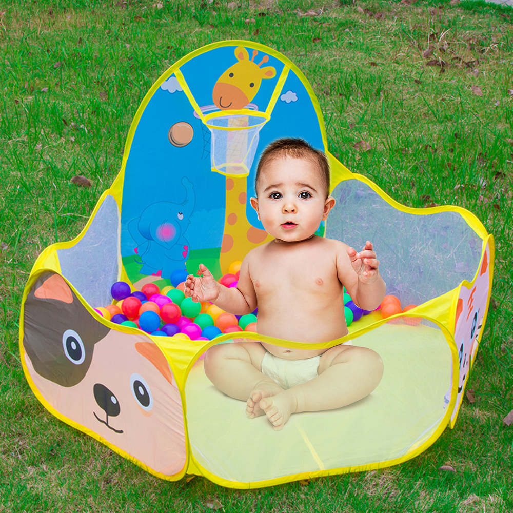 Portable Baby Kids Play Tent Children Outdoor Indoor Play Tent Kids Safe Foldable Playpens Game Pool Without Ball Pool Pit