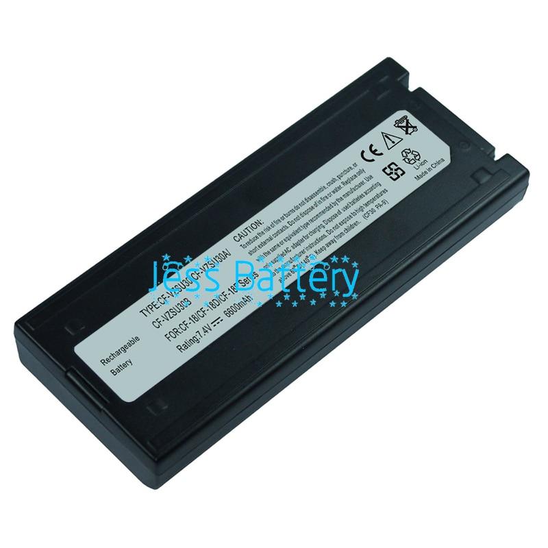 6600mAh New laptop battery for Panasonic Toughbook CF-18 CF-VZSU30B CF-VZSU30BU CF-VZSU30A CF-VZSU30AU CF-VZSU30U CF-VZSU30 toughbook