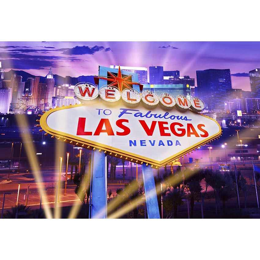 MEHOFOTO Las Vegas City Backdrops dla fotografii kasyno tło imprezowe na rekwizyty fotograficzne tło dla zdjęć
