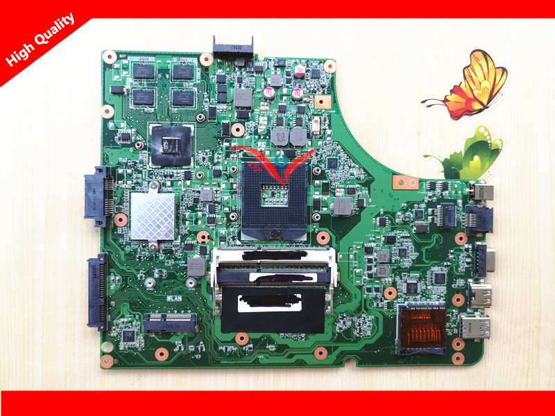 K53SD laptop motherboard for ASUS notebook system board Rev 5.1, 100% working with 6 months warranty !  original notebook motherboard x54c k54c for asus rev 2 1 system pc mainboard with ram on board