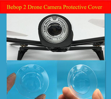 Parrot Bebop 2 drone camera protective cover lens cap sheets transparent protective shell accessories(China)
