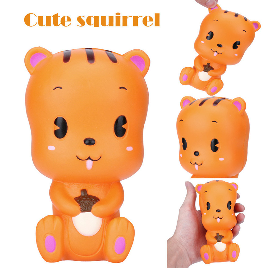 CCCZQ toy Cuet Squirrel Toast Scented Charm Slow Rising Squeeze Stress Reliever Toy Wholesale MAY 18