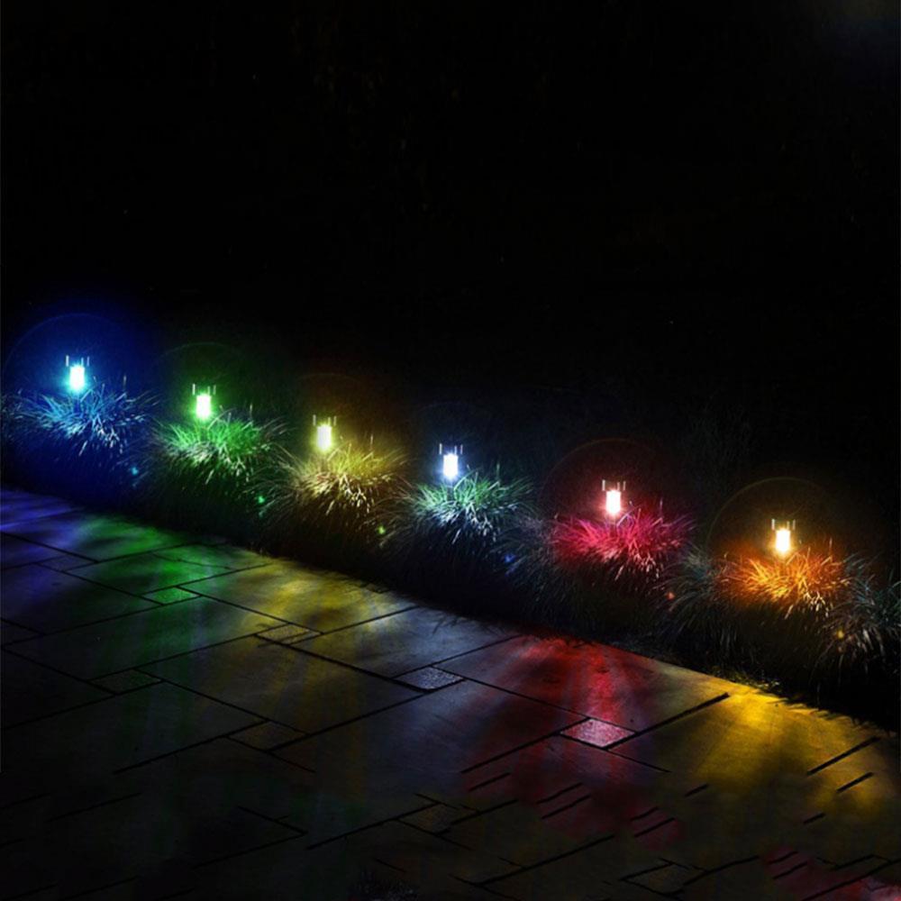 Design Led Solar Lamp Ground Spike Property Light Plug Moon Ball Lighting