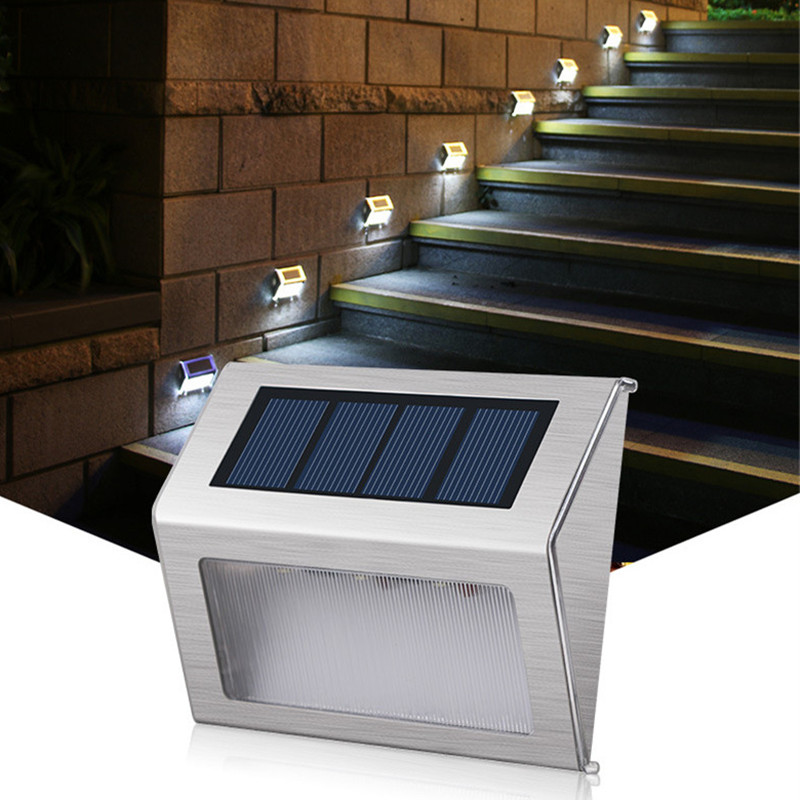 online store 07e75 1317b US $8.57 35% OFF|Solar Light Motion Sensor Fence Lamps Home Garden Solar  Powered Wall Lamp Yard Balcony Light Outdoor Waterproof Lamps-in Solar  Lamps ...