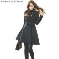 2017 New Winter Autumn Dress Women Blazer Long Sleeve V Neck Office Lady Black Jacket Bodycon