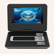 9.8 inch Portable DVD VCD Players with 3D Functions FM Radio Analog TV MP4 MP3Support USB Port,SD Card Play Freeshipping