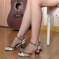 Роскошная дизайнерская обувь в гладиаторском стиле, женская модная обувь с вышивкой высокого качества, брендовая обувь zapatillas mujer, бархатная