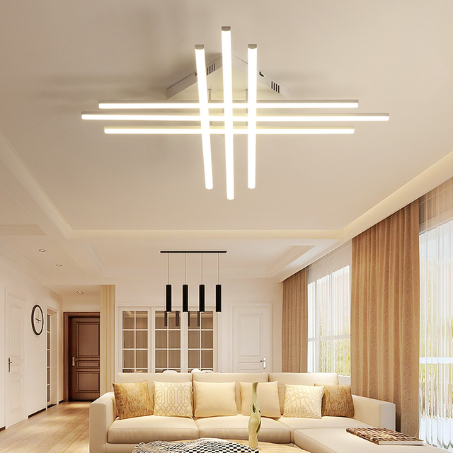 LED Ceiling Lights Modern Lamp Home Bedroom Decoration Lighting Fixture Living Room Remote Control Dimmable Surface Mounted