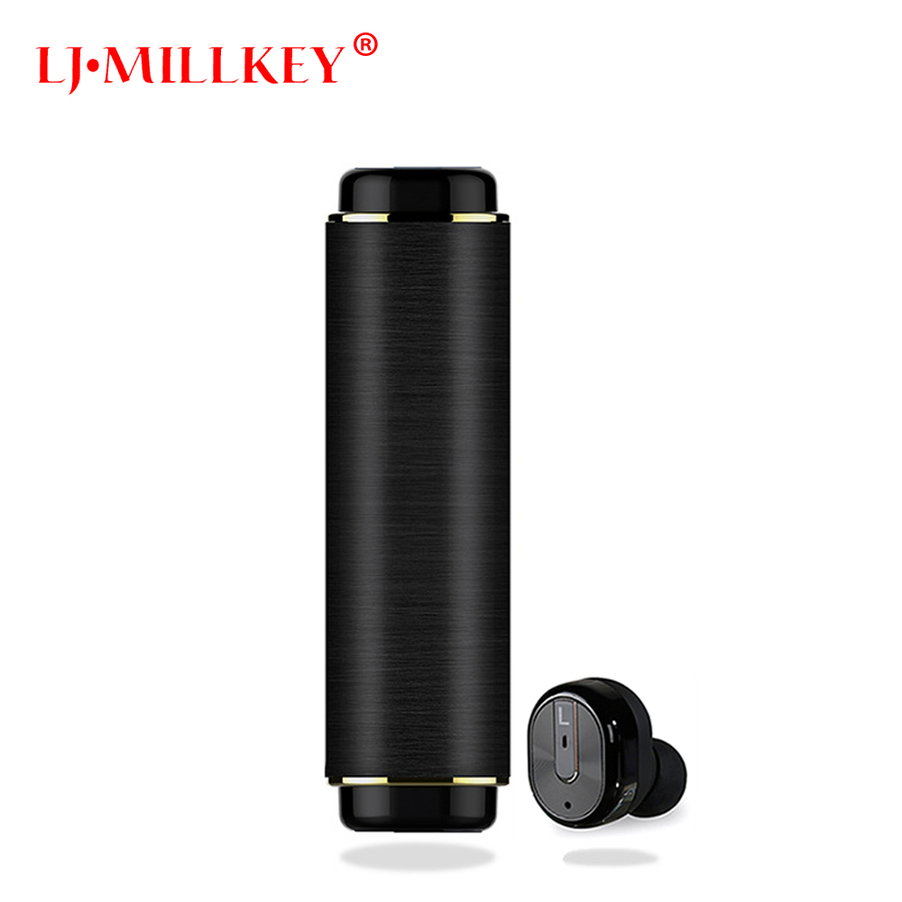 Mini True Wireless Earbuds with Charging Case TWS Bluetooth Earphone Noise Cancelling Sport In Ear Bluetooth Earphones YZ161 new true mini twins wireless bluetooth 4 1 sports earbuds cordless invisible in ear earphones with charging case built in jh
