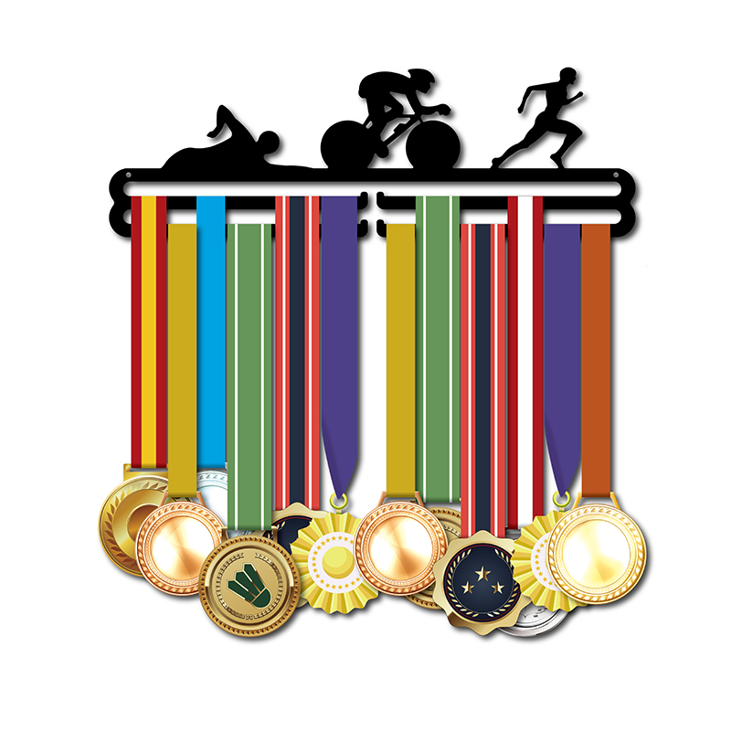 DDJOPH médaille titulaire Sport médaille cintre Triathlon médaille titulaire cintre pour médailles