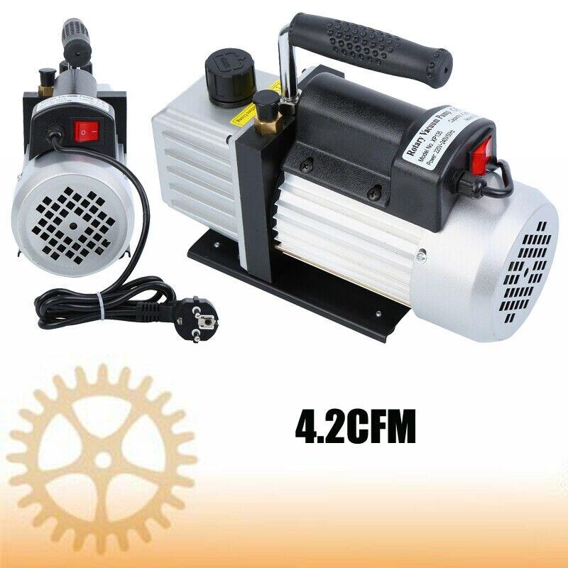 Vide de réfrigération de climatisation de pompe à vide d'étape simple de 4.2CFM 1/3HP 5Pa