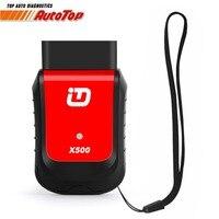 OBD2 Diagnostic Tool Xtuner X500 V2 6 OBDII Car Diagnostic Bluetooth Adapter ABS Battery EPB DPF