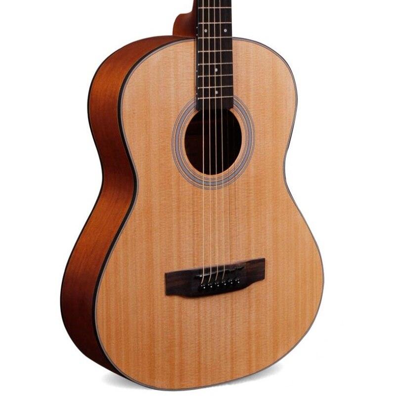 Guitare acoustique 34 pouces en épicéa 36 pouces guitare de voyage en acajou 38 pouces guitare en bois de voyage unisexe débutant étudiant guitare de jeu