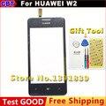 100% Новые Оригинальные w2 Сенсорным Экраном Дигитайзер Для huawei w2 Сенсорный экран Черный + Инструмент + Бесплатная Доставка