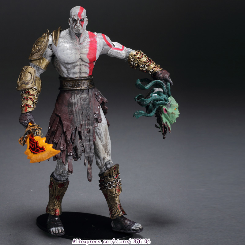 High Quality NECA God of War 2 II Kratos in Ares Armor W ...
