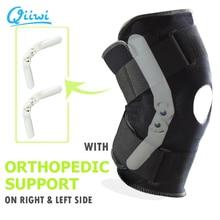 Rodillera deportiva de seguridad profesional, soporte estabilizador con bisagra interior Flexible, Protector de rodilla, Correa protectora transpirable