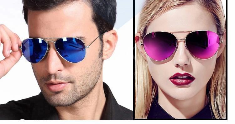 Luxury Aviator Sunglasses Women Men Brand Designer Reflective Mirror Sunglass Female Male Lady Sun Glasses Vintage Retro oculos (20)