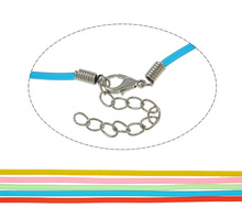 Rubber Cord Thread Necklace