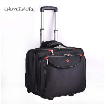 Multifunction Men Business Rolling Luggage Spinner 18 inch Brand Carry Ons Suitcase Wheels password laptop Travel Bags
