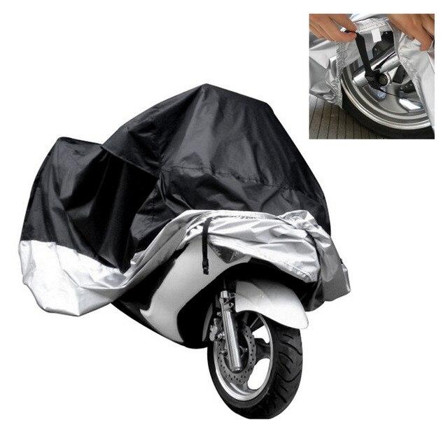 Водонепроницаемый Чехол Для Хранения Мотоциклов Мотоцикл Роллер Мопед Размер L Черный Горячий
