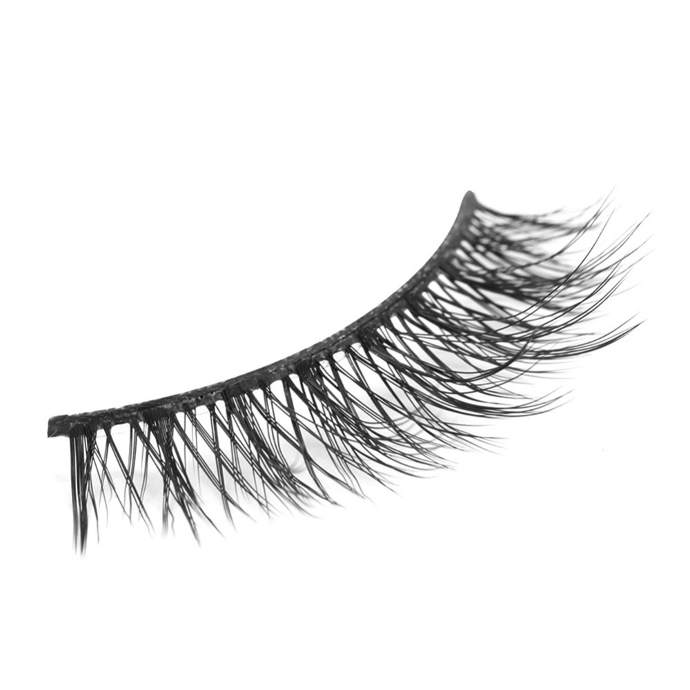 New Fake Eye Lashes Natural Long Thicker Reusable False Eyelashes Handmade No Glue Eye Lashes Makeup Kit Dropshipping