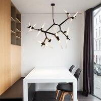 Sáng tạo Chi Nhánh Nghệ Thuật đèn chùm Hiện Đại Thiết Kế Ý Phòng Khách Nhà Hàng Đèn chandelier treo đèn