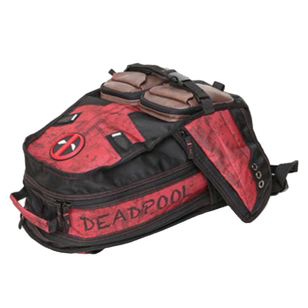 Miracle Dead Pool Laptop backpack man double shoulder bag