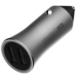 Image 4 - Xiaomi cargador USB Dual para coche, 18W, carga rápida 3,0, salida inteligente, puntas de luz de 12V/1,5a +, soporte magnético para teléfono móvil