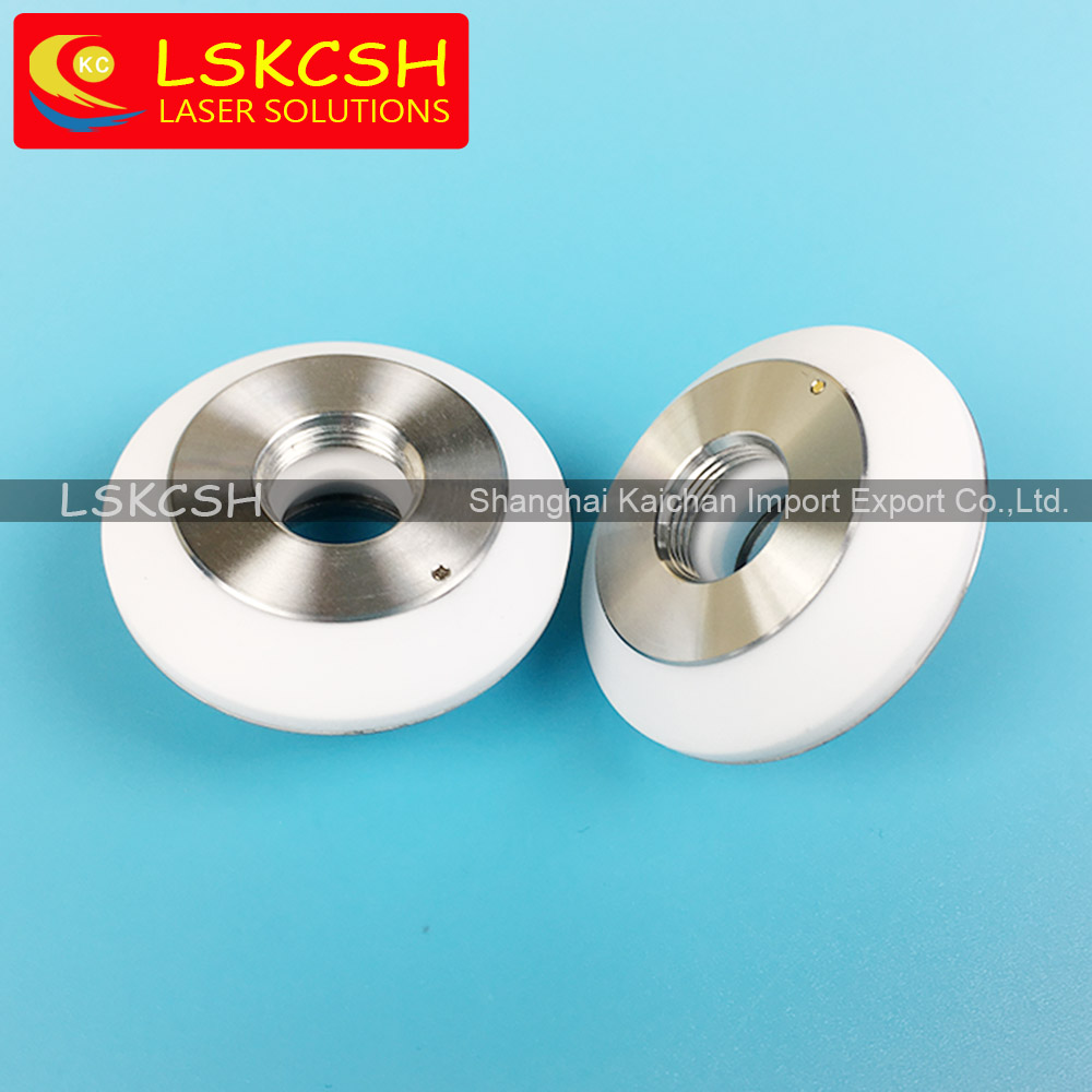 LSKCSH professional old highyag/nukon fiber laser ceramic parts nozzle holder factroy wholesale agents wanted overseas OEM