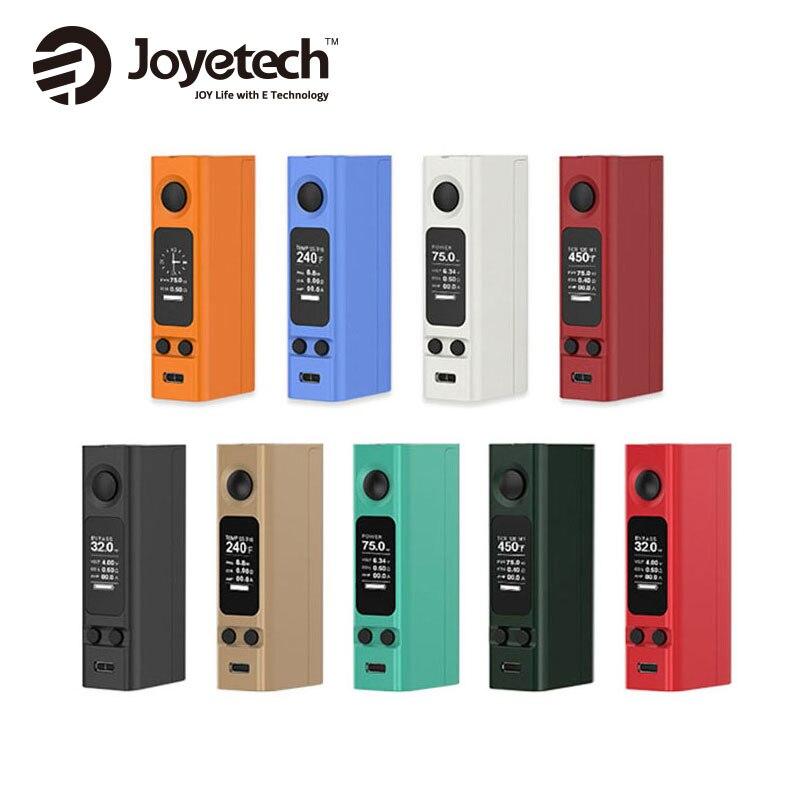 Original Joyetech Evic VTwo Mini Box Mod Elektronische Zigarette 75 Watt Vape Mod Unterstützung RTC/VW/VT/Bypass/TCR Erweiterbare Firmware