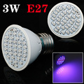 Lowest Price 3W E27 20Red:16Blue 36Leds LED Plant Grow Light Lamps For Flowering Plant And Hydroponics System Free Shipping