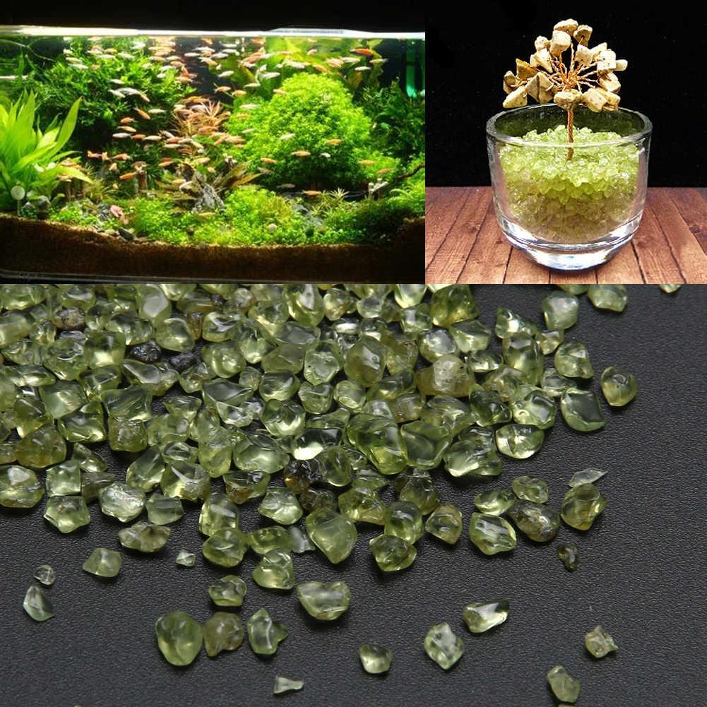 100g Natural Peridot Olivine คริสตัลควอตซ์คริสตัลหินสุขภาพ Healing Home Decor หินธรรมชาติแร่ธาตุหินคริสตัลหิน