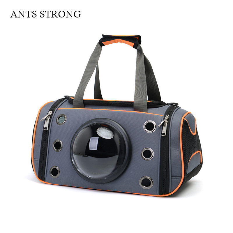 ANTS STRONG breathable pet messenger bags/cat space capsule bag oxford cloth handbag big space pets pack pet inn туалет petinn space cat д кошки коричневый 52 5х39х40 см