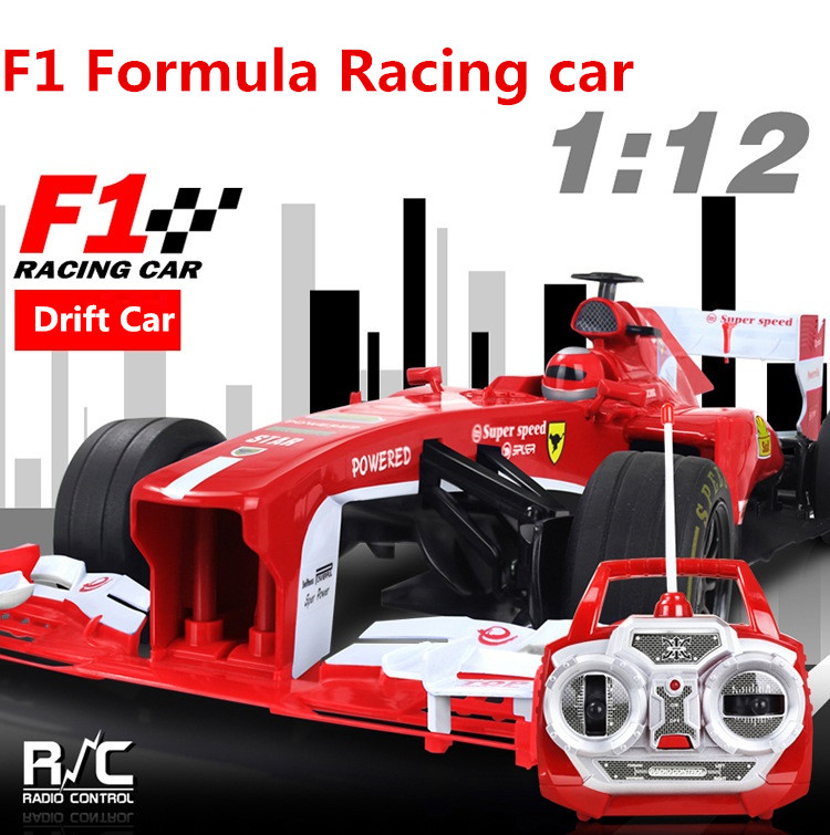 Nueva Fórmula F1 RC Car 1:12 727-S5 20 KM/RC de Alta Velocidad Modelo de coche d