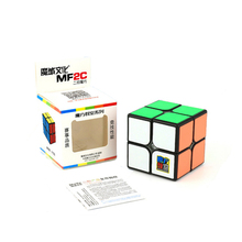 Moyu MF2C 2x2 Competition Speed Magic Cube Puzzle Gifts Educational Toy for Children MF8832 - Black